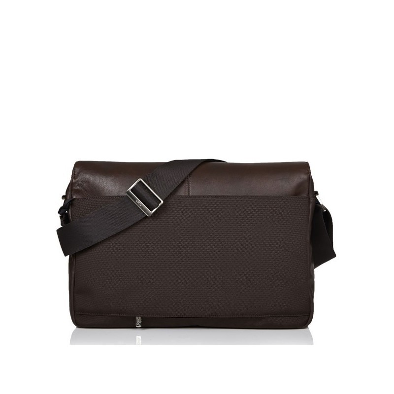 Knomo Kobe Messenger Bag V2 Leder braun