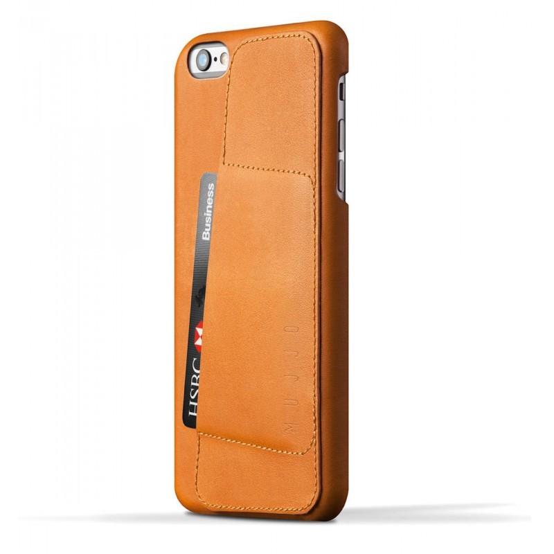 Mujjo Wallet Case 80 iPhone 6(S) Plus braun