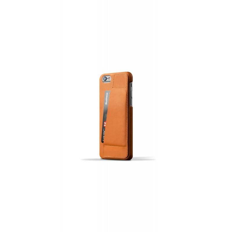 Mujjo Wallet Case 80 iPhone 6(S) braun