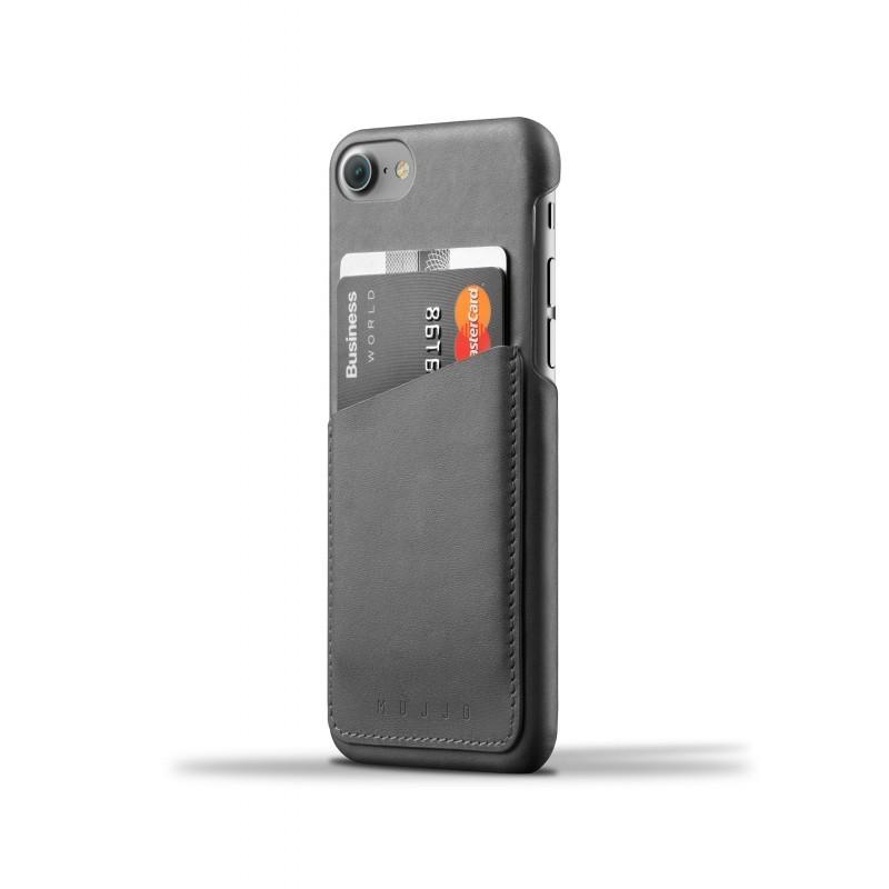 Mujjo Wallet Case iPhone 7 schwarz