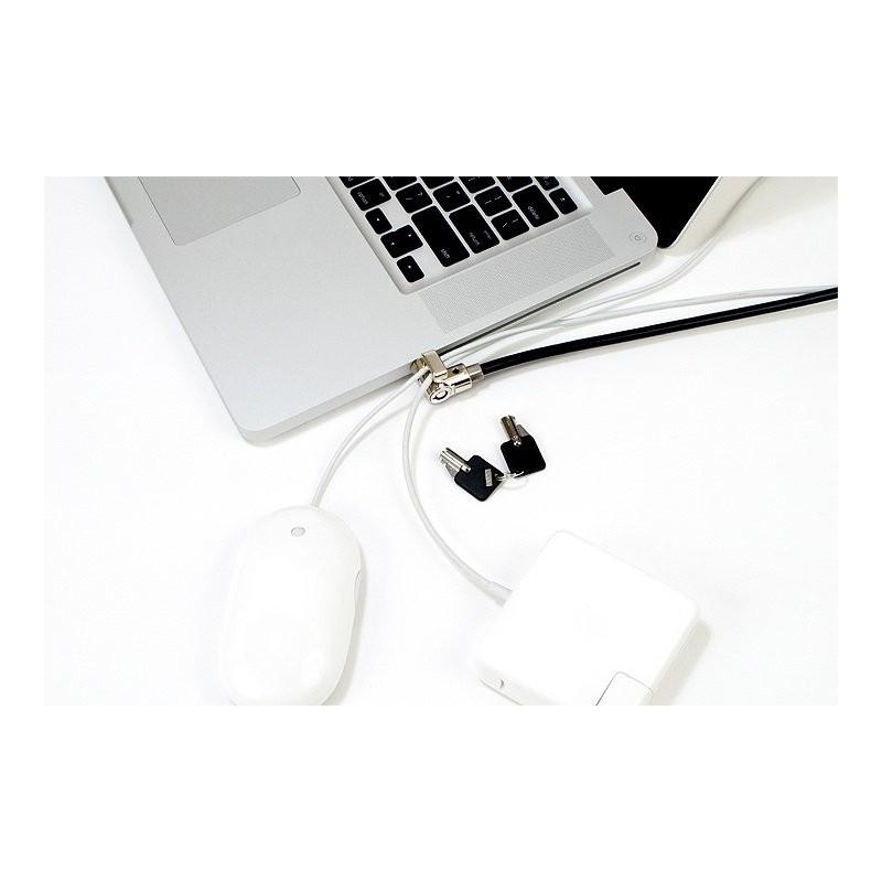 MacLocks Universal-Laptop-Kabelschloss