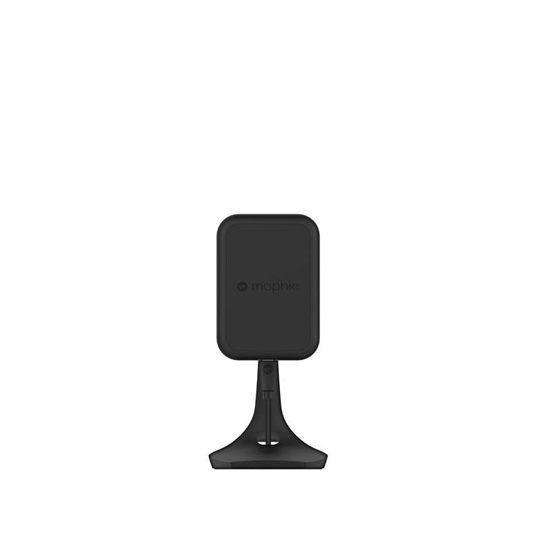 Mophie Charge Force Desk Mount kabelloser Aufladung schwarz