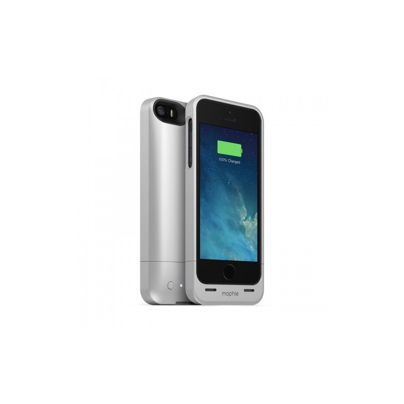 Mophie Juice Pack Air iPhone 5(S)/SE silber