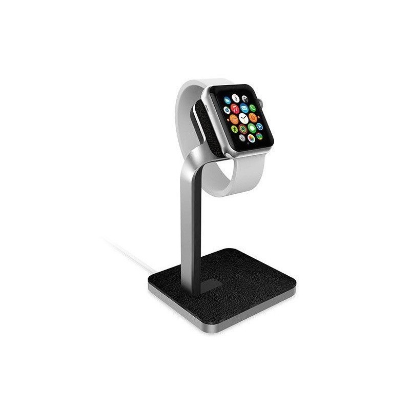 Mophie Watch Dock Silber