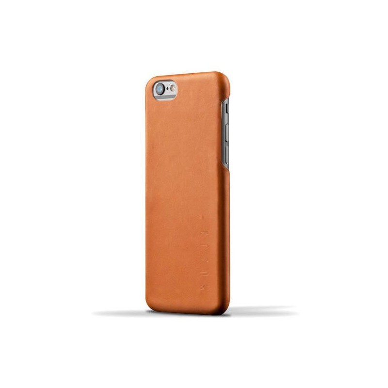 Mujjo Leder Case iPhone 6(S) Tan