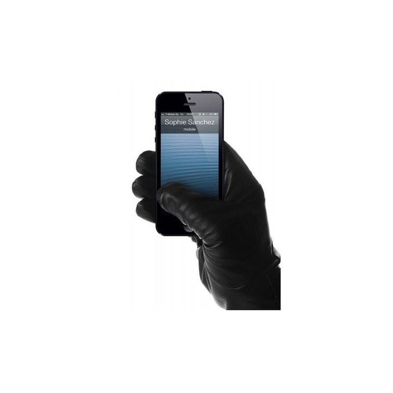 Mujjo Leder Touchscreen Gloves Size 8,5 (L)