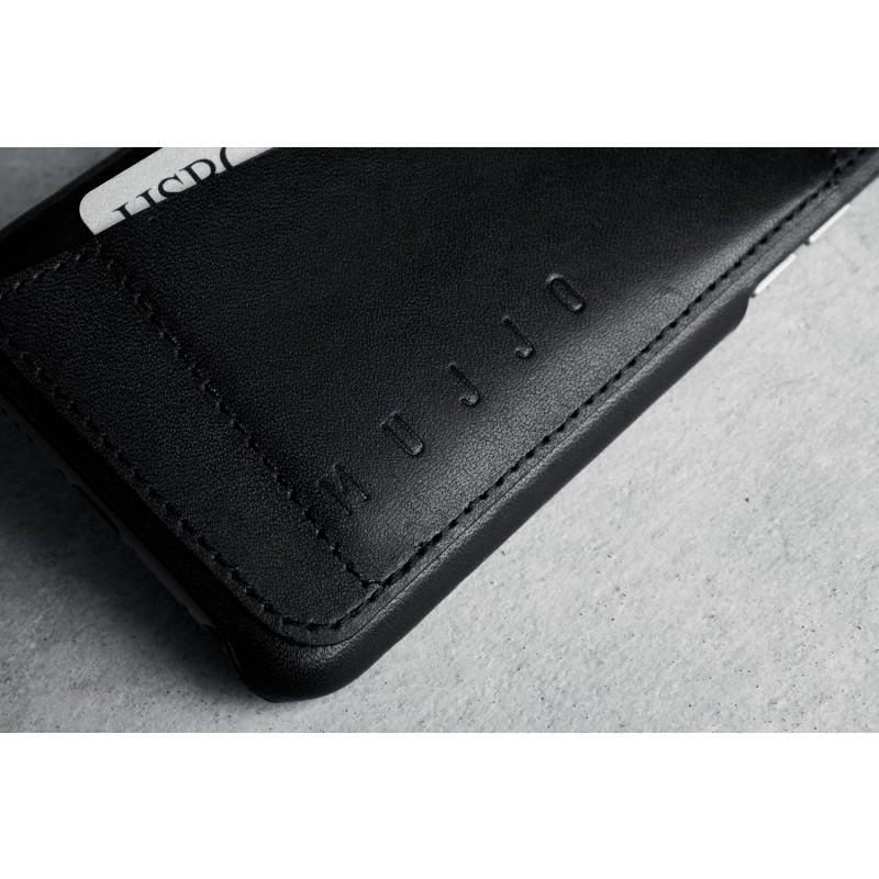 Mujjo Leder Case iPhone 6(S) schwarz