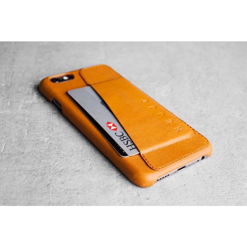 Mujjo Leder Case 80 iPhone 6(S) Plus Tan