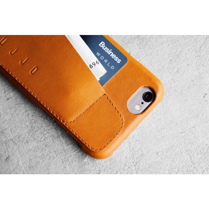 Mujjo Leder Case iPhone 6(S) Tan
