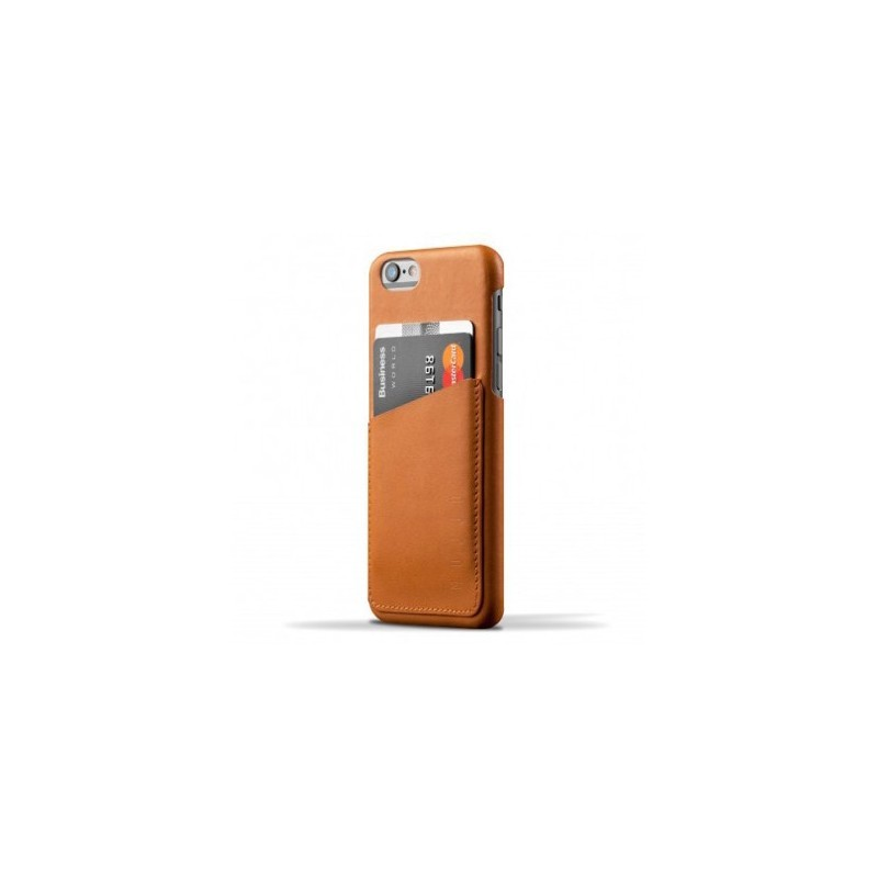 Mujjo Wallet Case iPhone 6(S) braun