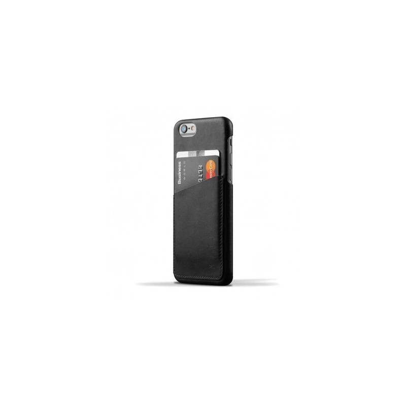 Mujjo Wallet Case iPhone 6(S) schwarz