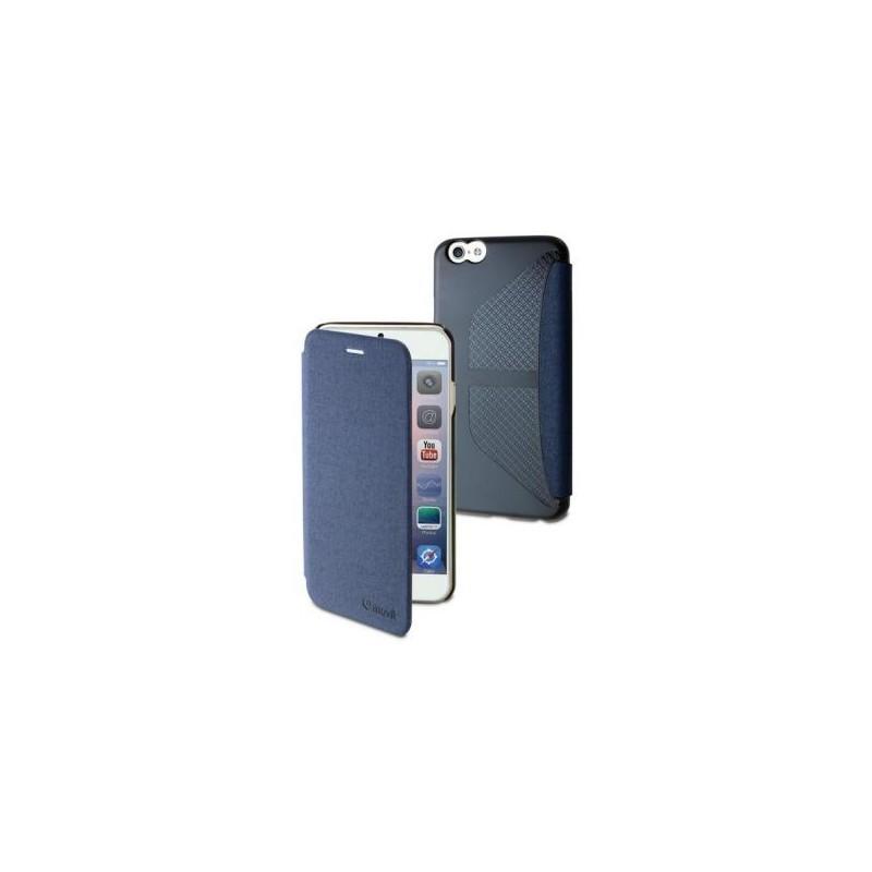 Muvit Easy Folio Card case Denim iPhone 6(S) blau