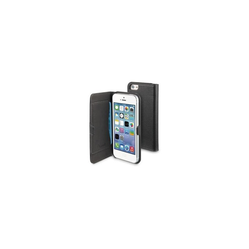 Muvit Slim Folio Case iPhone 5(S)/SE schwarz