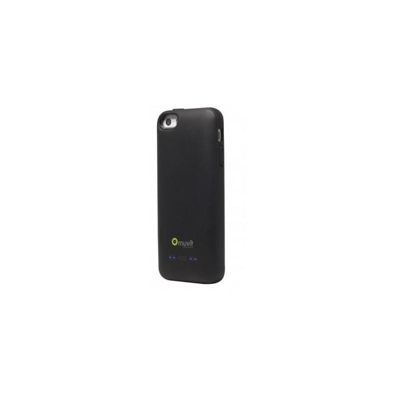 Muvit Power Case iPhone 5(S)/SE schwarz (2000mAh)