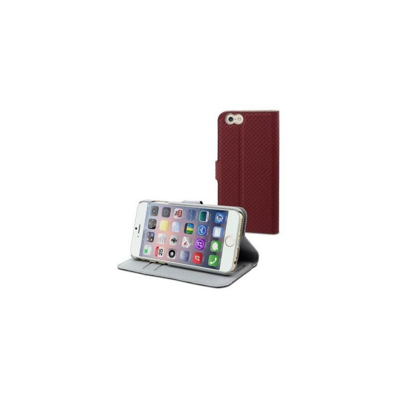 Muvit Wallet Case iPhone 6(S) rot