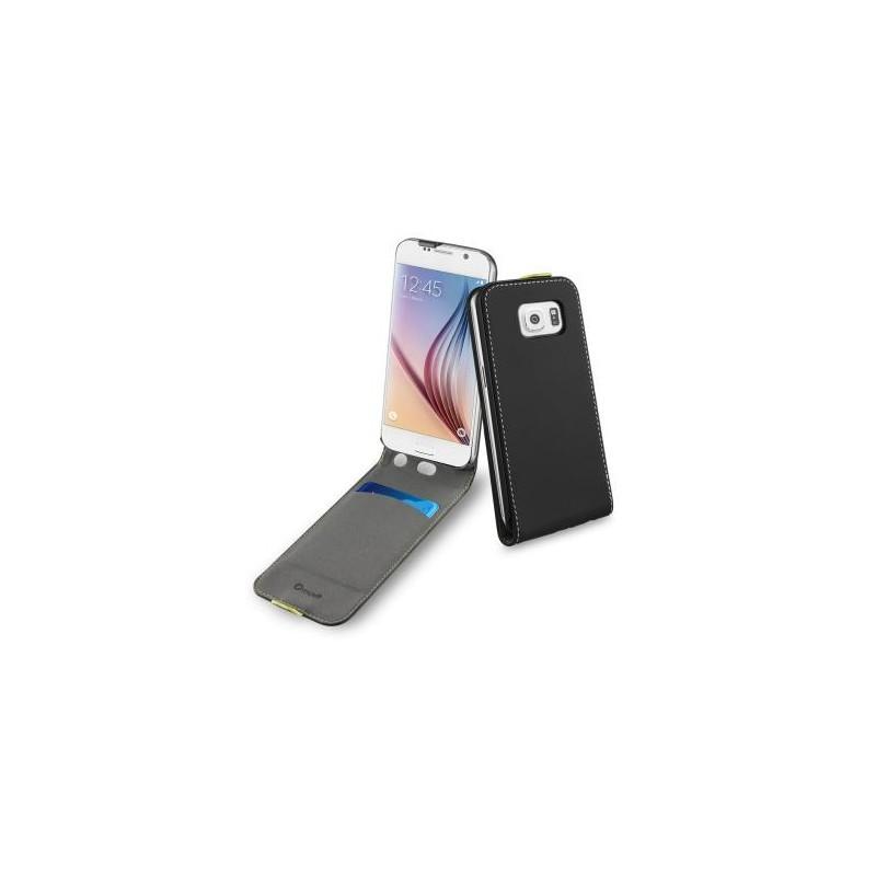 Muvit Wallet Slim flip Hülle Galaxy S6 schwarz