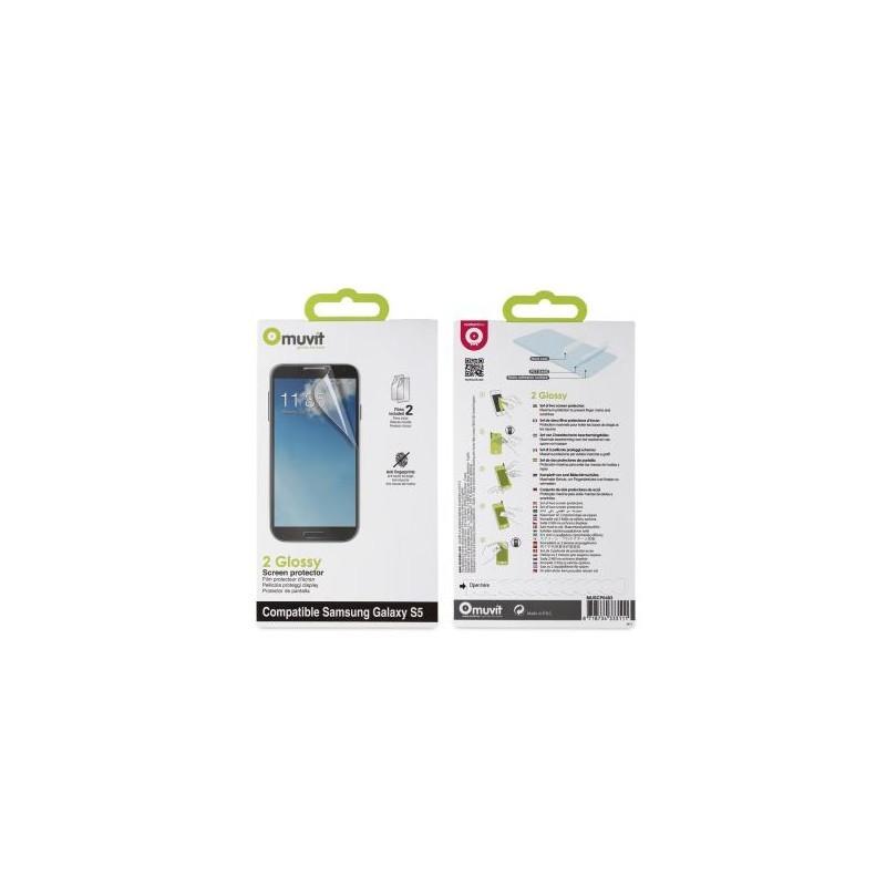 Muvit Schutzfolie Glossy Galaxy S5