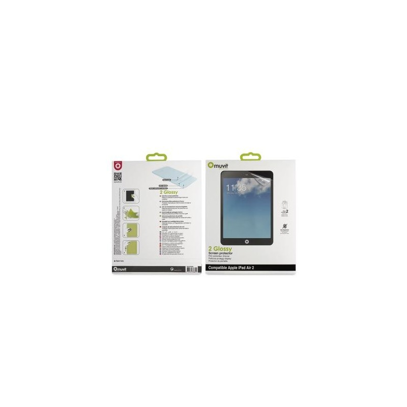 Muvit Bildschirmschutzfolie iPad Air 2 / Pro 9.7