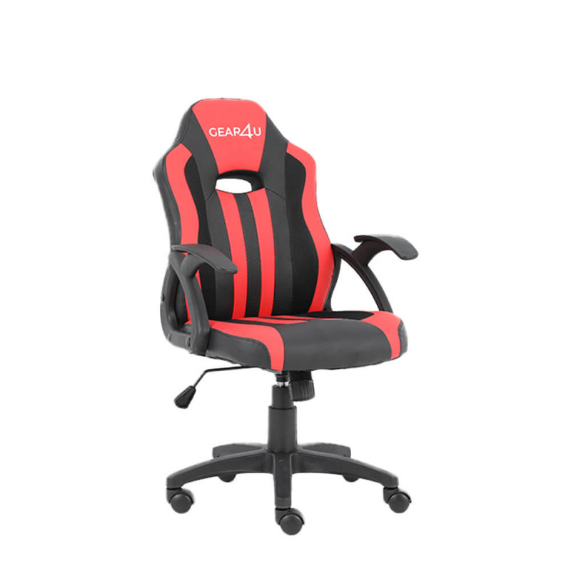 Gear4U Junior Hero Gaming Stuhl Rot / Schwarz