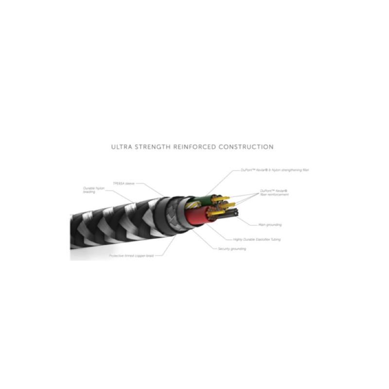 Native Union Kevlar Belt Lightning Kabel 3m schwarz