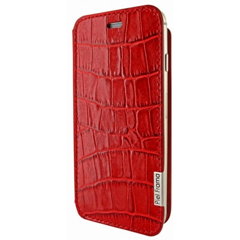 Piel Frama FramaSlim iPhone 6(S) Wild Crocodile rot