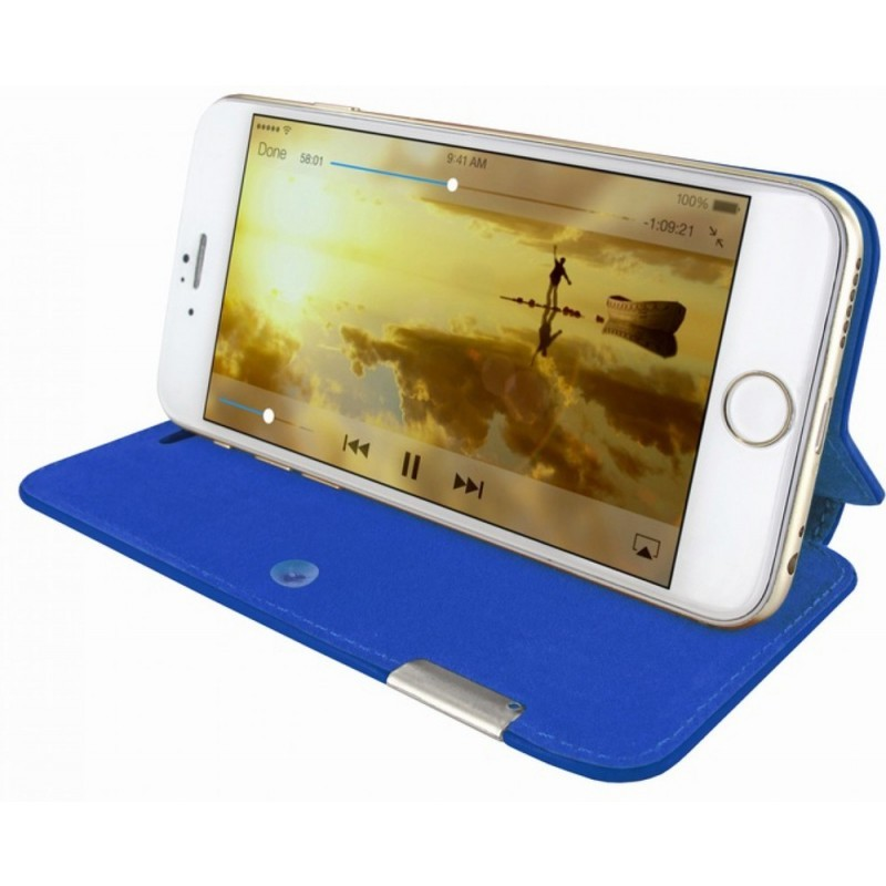 Piel Frama FramaSlim iPhone 6(S) Crocodile blau