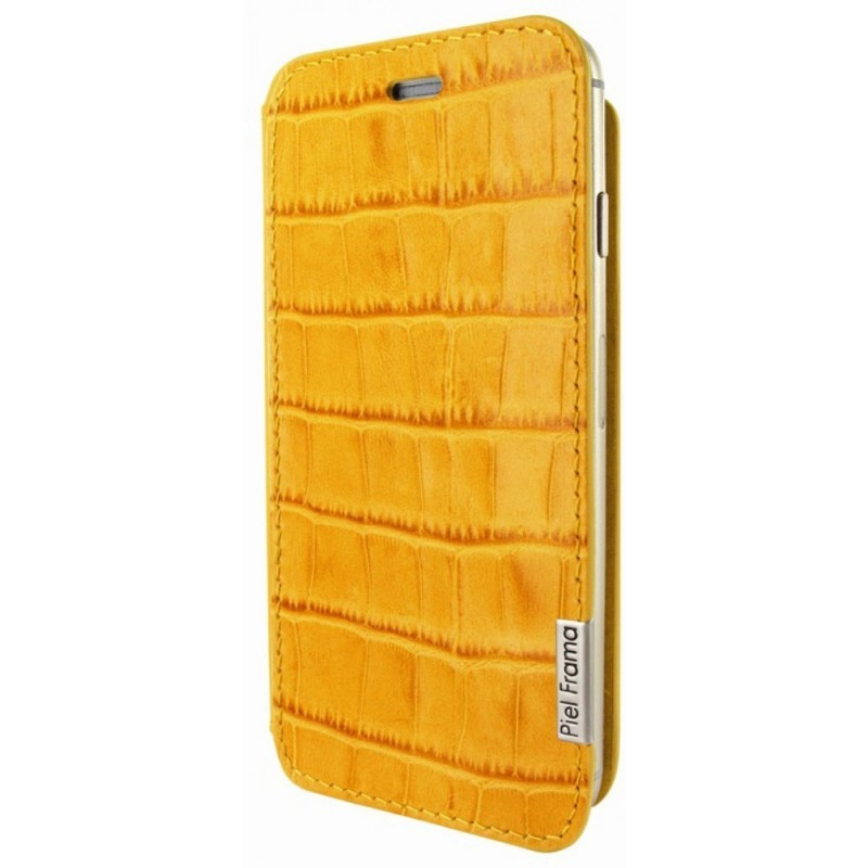 Piel Frama FramaSlim iPhone 6(S) Crocodile gelb