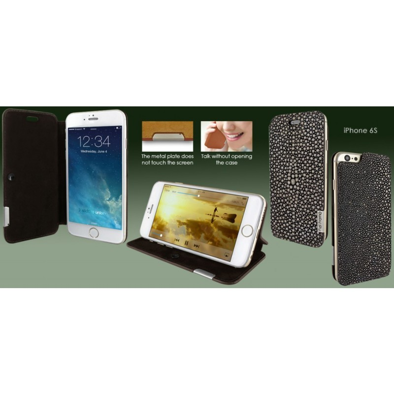Piel Frama FramaSlim iPhone 6(S) Stingray braun