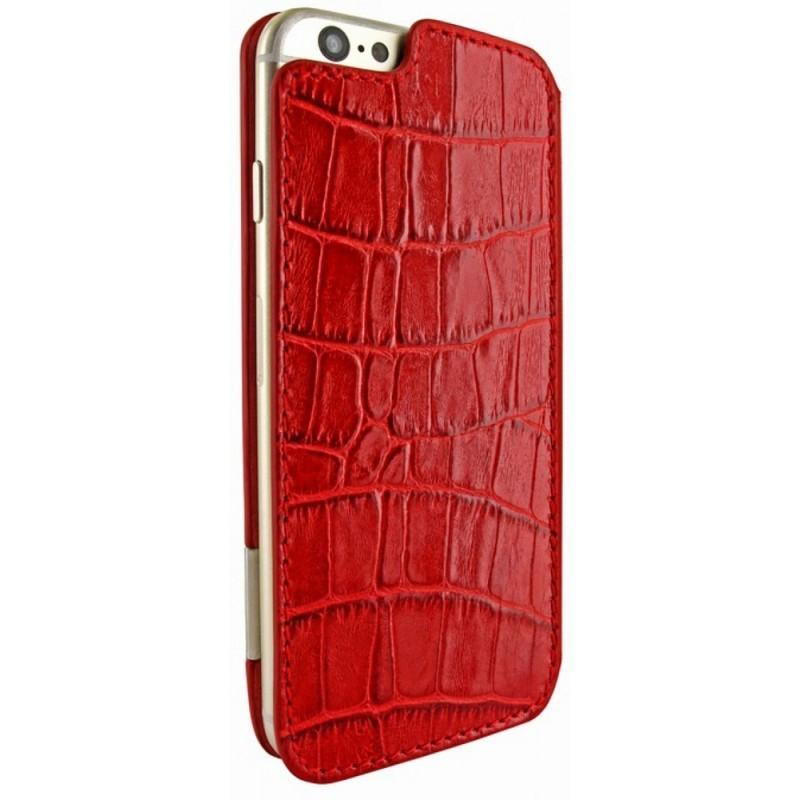 Piel Frama FramaSlim iPhone 6(S) Crocodile rot