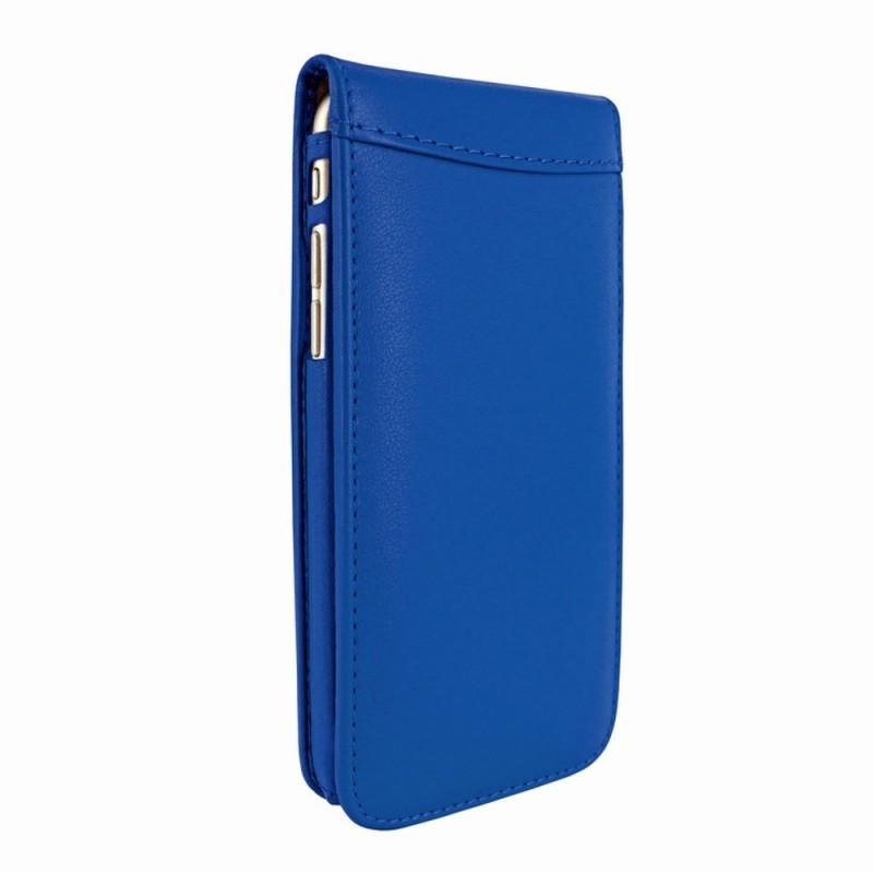 Piel Frama Magnetic Flipcase iPhone 6(S) Crocodile blau