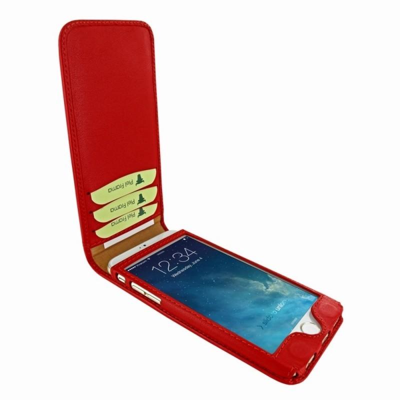 Piel Frama Magnetic Flipcase iPhone 6(S) rot