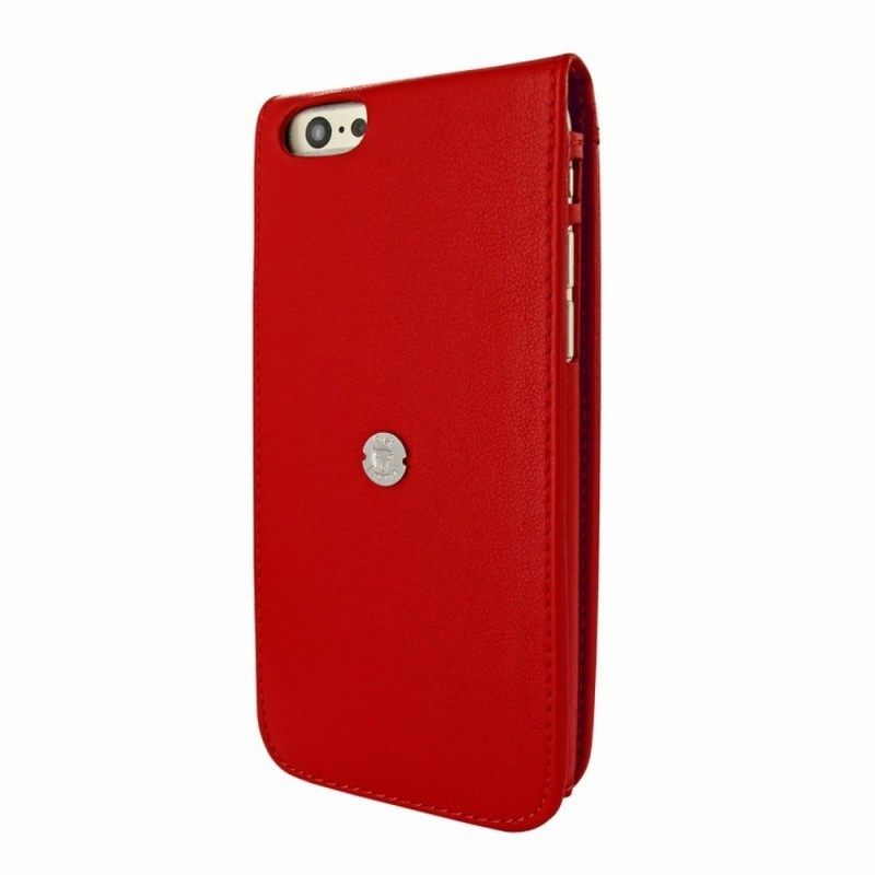 Piel Frama Magnetic Flipcase iPhone 6(S) rot