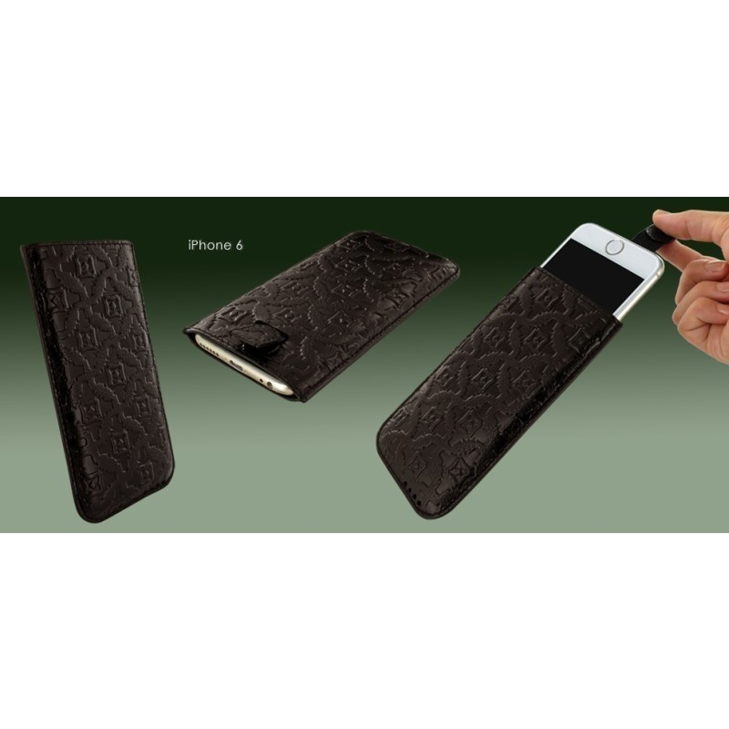 Piel Frama Pull Sleeve iPhone 6(S) / 7 braun