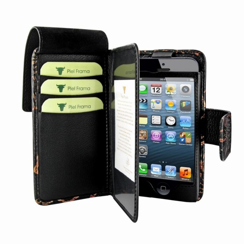 Piel Frama Wallet iPhone 5(S)/SE Nspire zwart