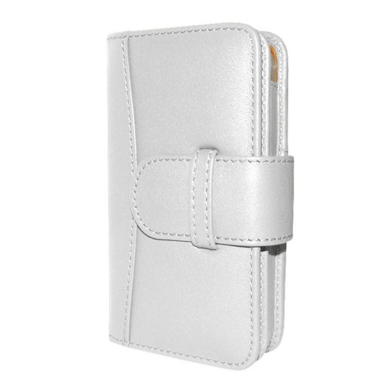 Piel Frama Wallet iPhone 5(S)/SE Weiß