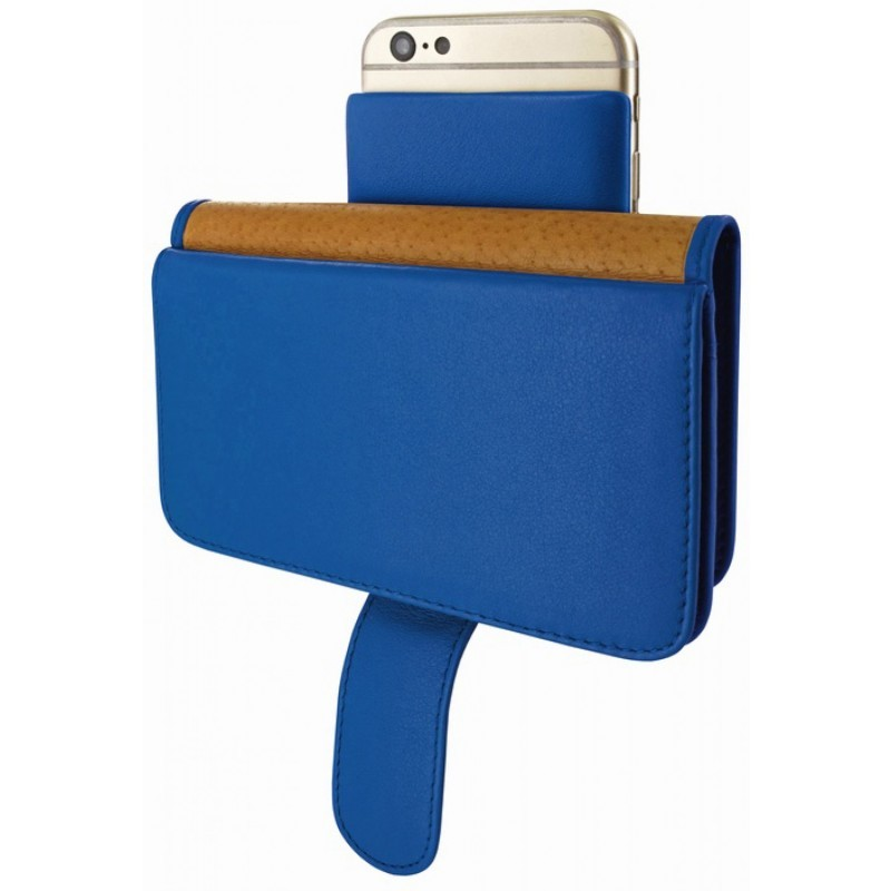 Piel Frama Wallet iPhone 6(S) blau