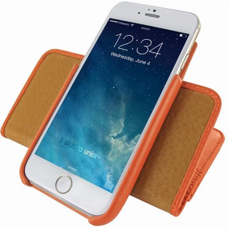 Piel Frama Wallet iPhone 6(S) orange