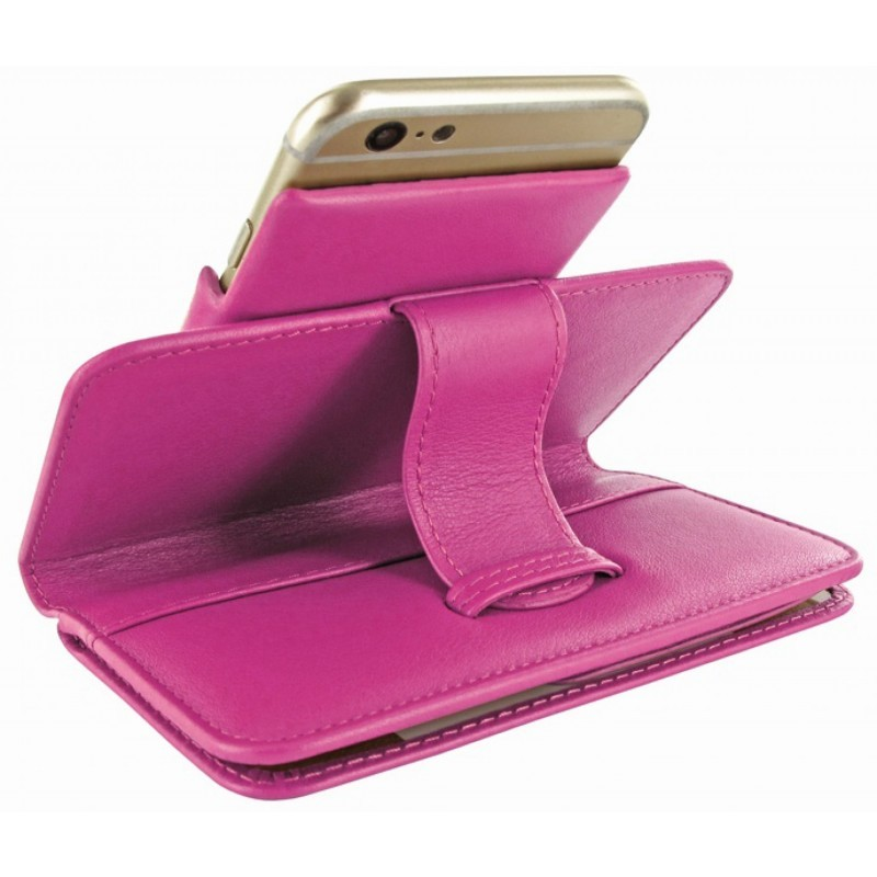Piel Frama Wallet iPhone 6(S) rosa