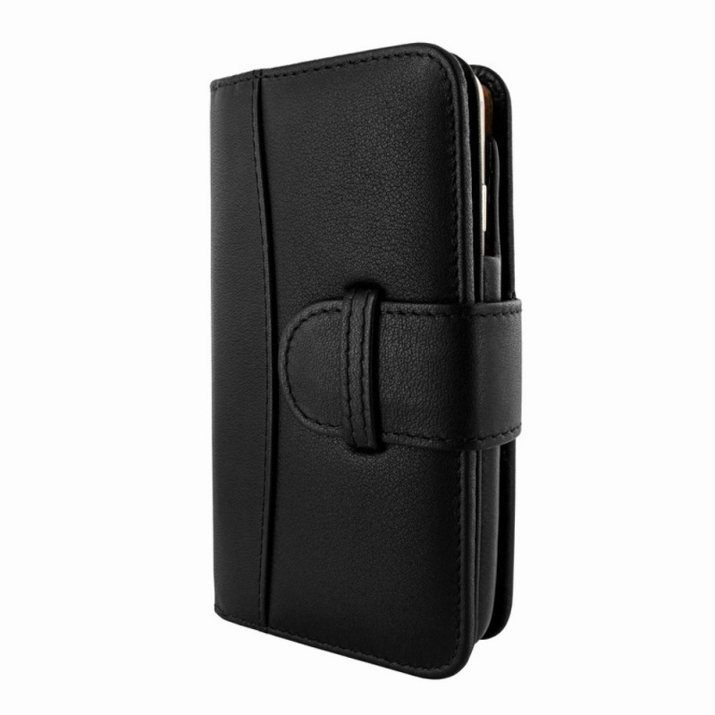 Piel Frama Wallet iPhone 6(S) Plus schwarz