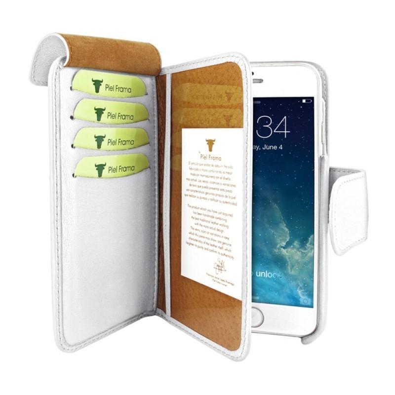 Piel Frama Wallet iPhone 6(S) weiß