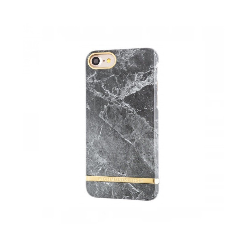 Richmond and Finch Marble Glossy iPhone 7 grau