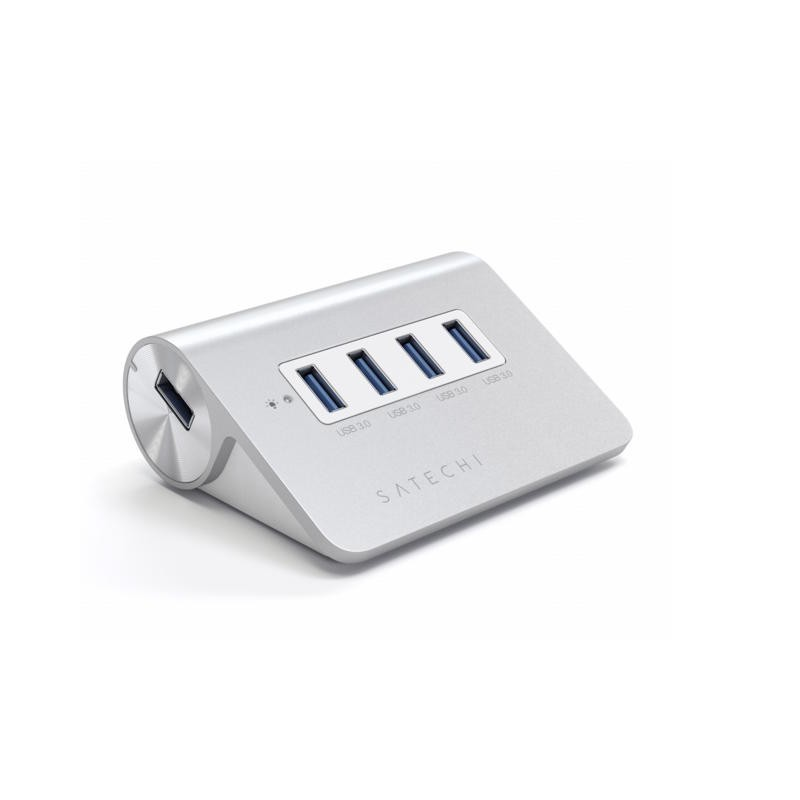 Satechi USB-Hub 4-Port Aluminium