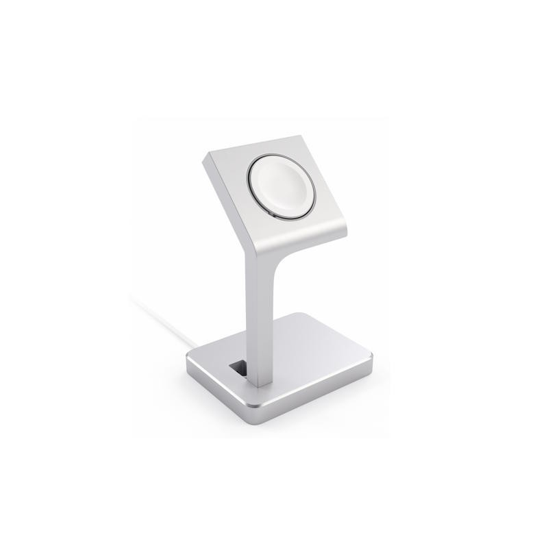 Satechi Aluminium Apple Watch Ständer Silber