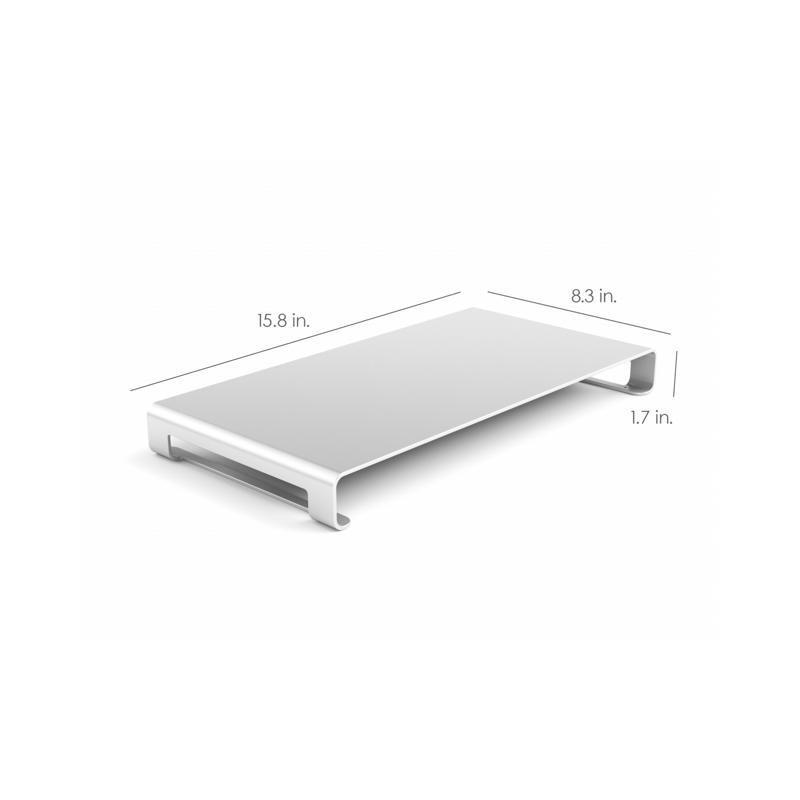 Satechi Aluminium Ständer iMac und Macbook Silber