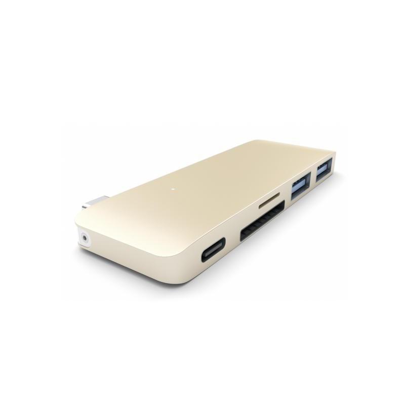 Satechi USB-C 3.0 Hub gold