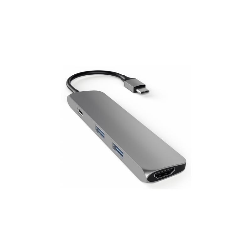 Satechi USB-C Multi-Port Hub Space Gray