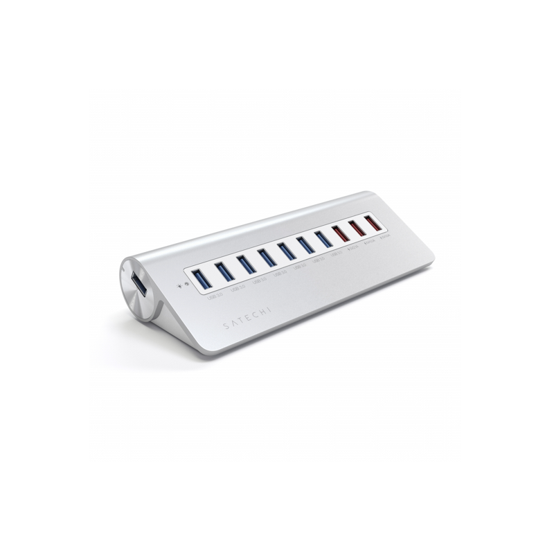 Satechi 10-Port USB Hub Aluminium