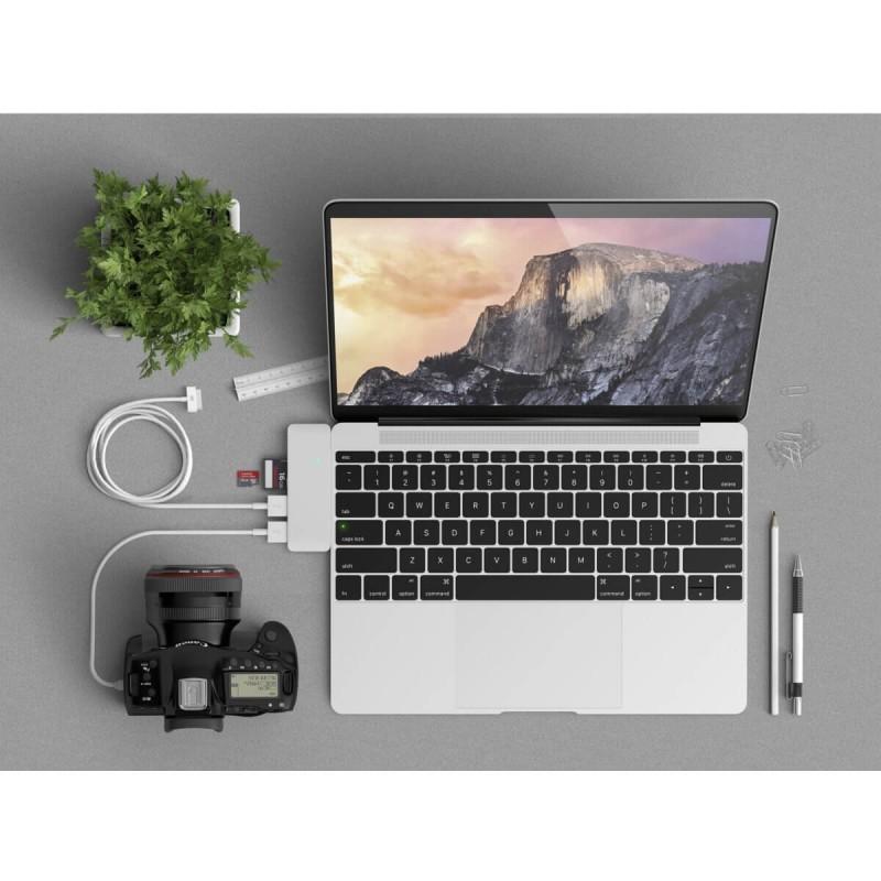 Satechi USB-C 3.0 3-in-1 Hub silver