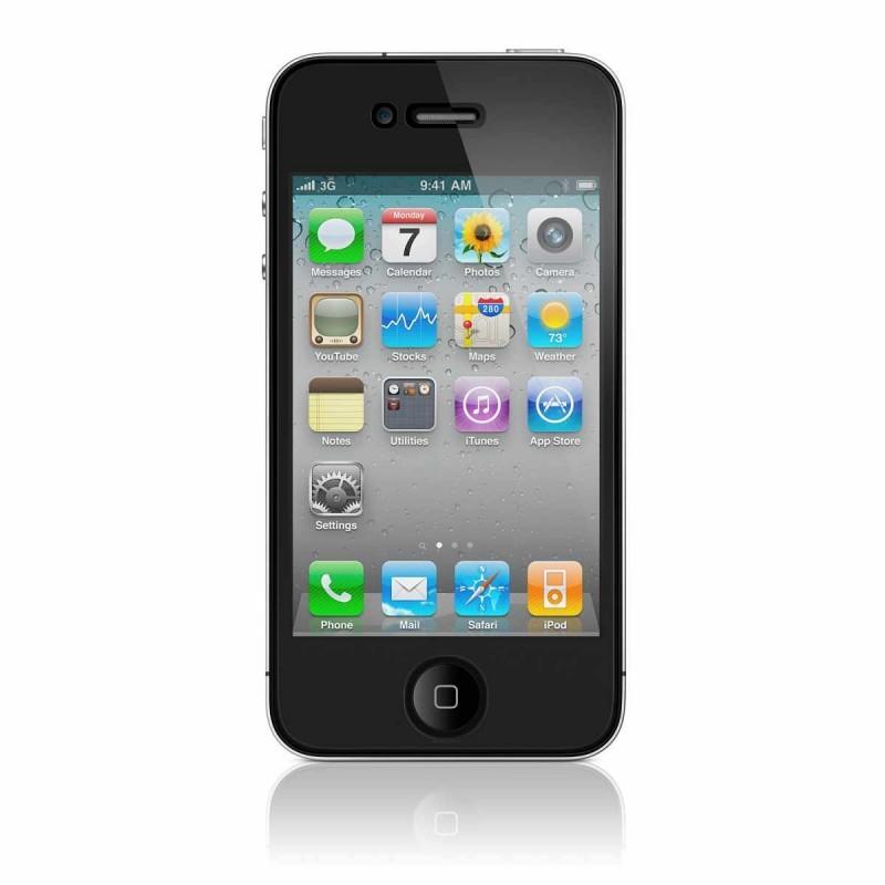 Schutzfolie iPhone 4(S) klar (Vorder- und Rückseite)