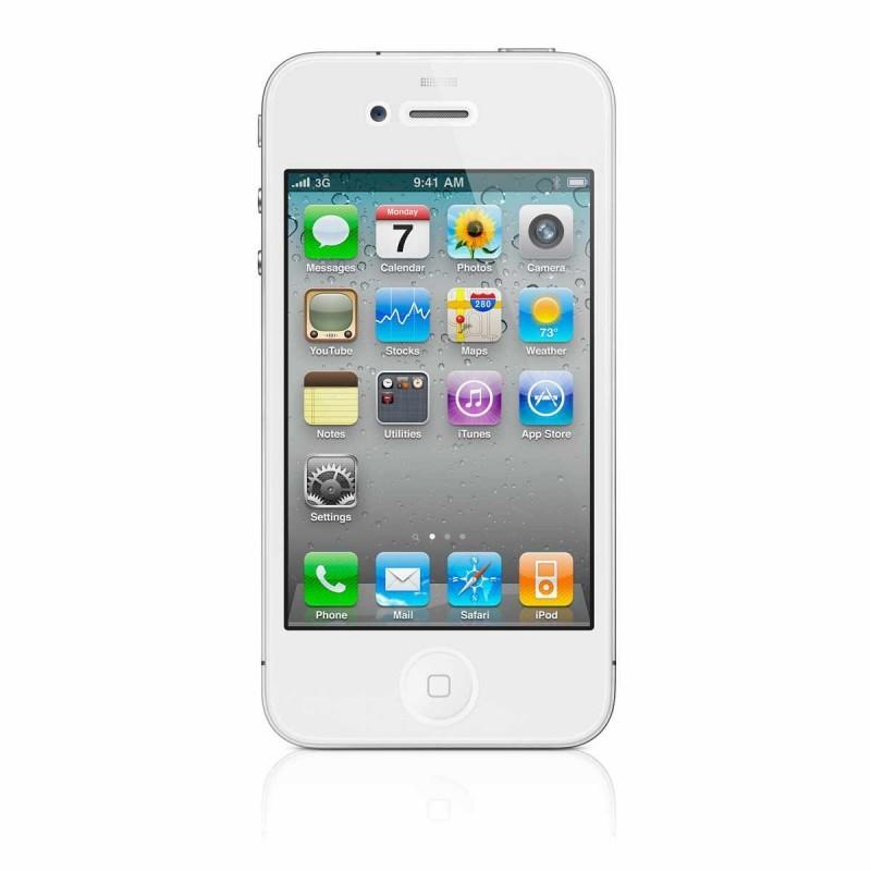 Displayschutzfolie iPhone 4(S) klar (Vorderseite)